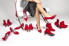 Schoenen en accessoires in de kleur Rood