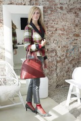 Schoenen en accessoires in de kleur bordeaux