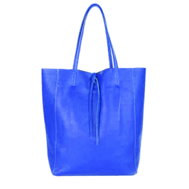 Colori Arlene, Shopper leder Royal Blue