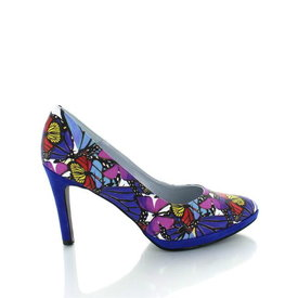 Sebastian Sebastian print, pumps Royal Blue