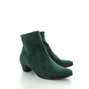 Como, Suede Enkellaarzen Bottle Green