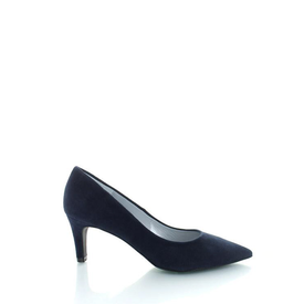 Ancona Ancona, Suede Pumps Donkerblauw