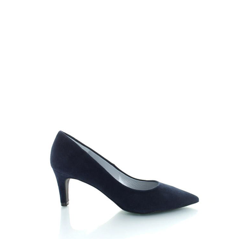 Ancona, Suede Pumps Donkerblauw