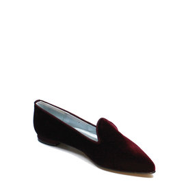 Colori Bilbao,  Loafer Fluweel Bordeaux