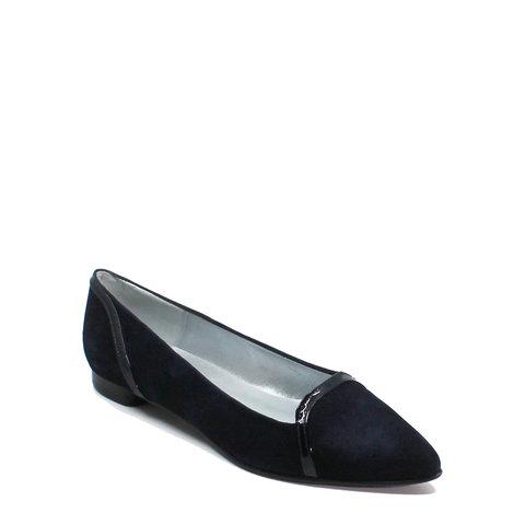 Punto, schoen suède (lak) Donkerblauw