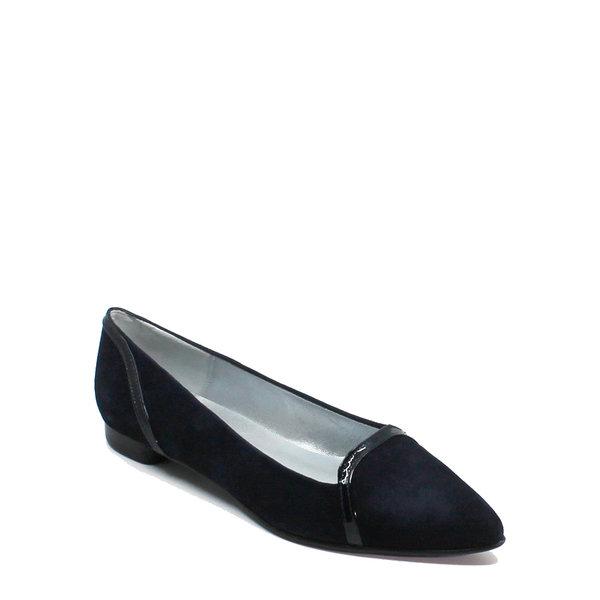 Colori Punto, schoen suède (lak) Donkerblauw
