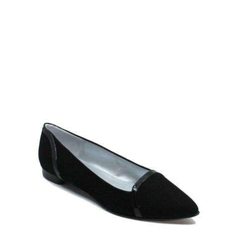 Punto, schoen suède (lak) Zwart