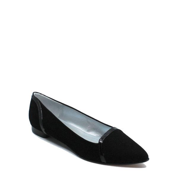 Colori Punto, schoen suède (lak) Zwart
