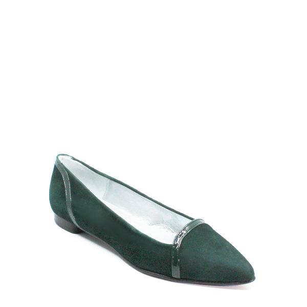Colori Punto, schoen suède (lak) Groen
