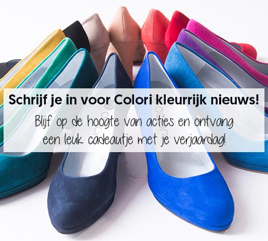 Schoenen en accessoires in de kleur blauw | Colori Shoes