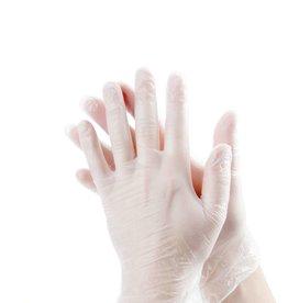 Vinyl handschoenen poedervrij wit Avalanche