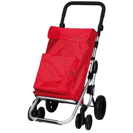 Playmarket Boodschappentrolley Go Plus Rood