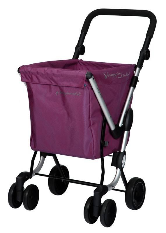 Playmarket Boodschappentrolley We Go Lila