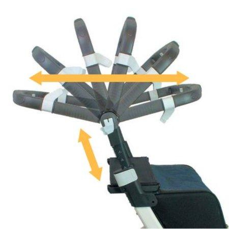 Rollator Rollz Flex, Rollator en Boodschappentrolley in één