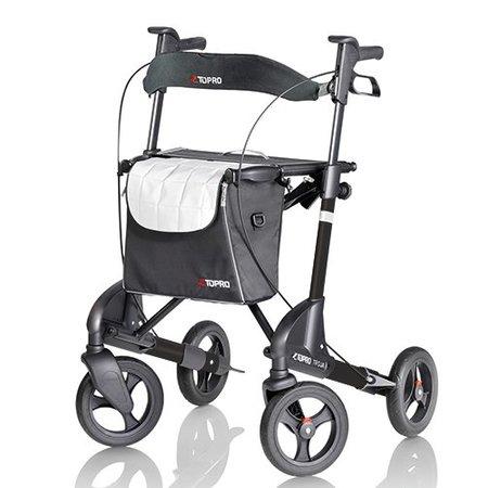 Topro Topro Troja 2G Mat Zwart Limited - Gratis Rugsteun - Copy