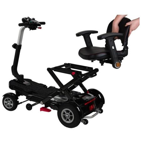 Brio S19FC Carbon Scootmobiel Black Edition - Demo