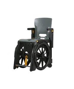 WheelAble: Opvouwbare en verrijdbare douchestoel / toiletstoel