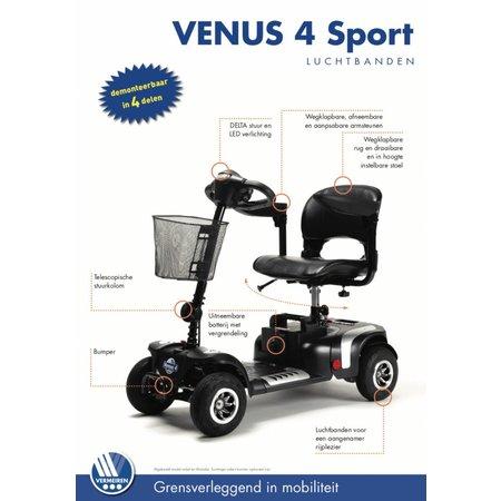 Vermeiren Venus 4 Sport met luchtbanden