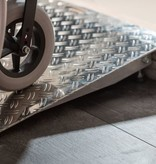 Verstelbare aluminium drempelhulp 7,5 - 10 cm