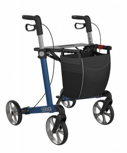 Rollator Server Blauw - Demo model