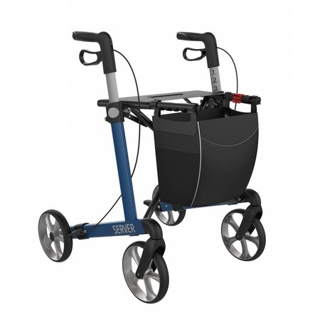 Rehasense Rollator Server Blauw - Demo model