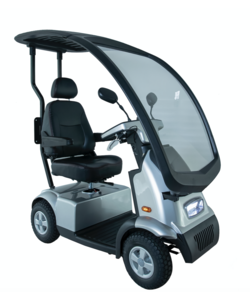 Overdekte Scootmobiel Breeze C4 Plus