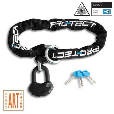 Pro-tect Kettingslot TOPAZ+ ART-4 met slimme loop - 150 CM