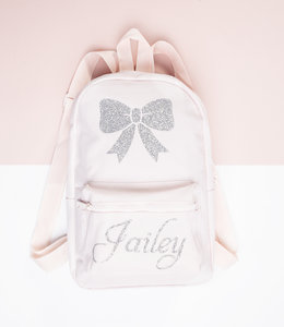 Glitz4kids Mini girls bow backpack