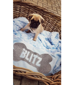 Glitz4kids Hondendeken | Met naam