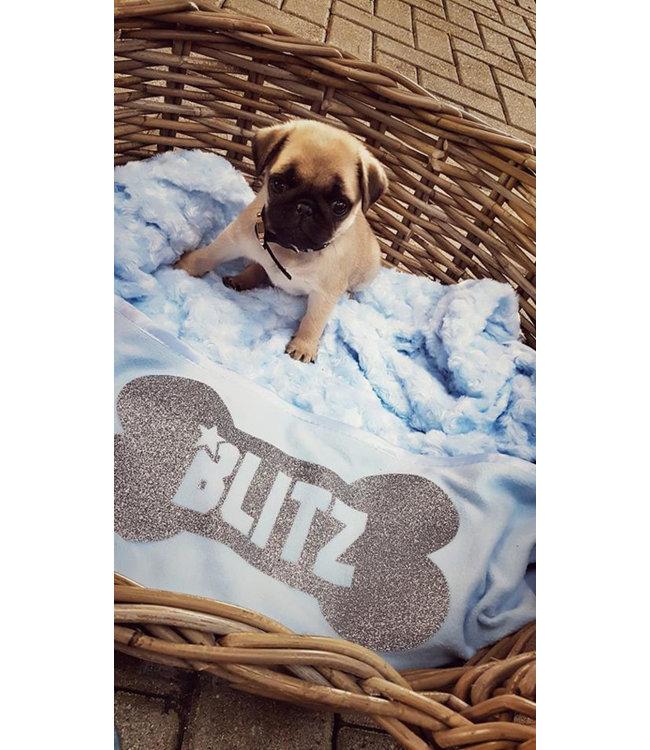 Glitz4kids Hondendeken | Met naam van je hond