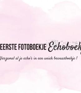 Glitz4kids Mijn eerste fotoboekje echoboekje (roze)