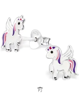 Glitz4kids Unicorn oorbel