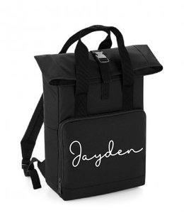 glitz4kids Roll up backpack | Zwart