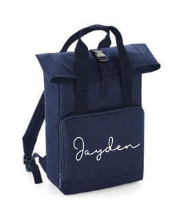 glitz4kids Roll up backpack | Navy