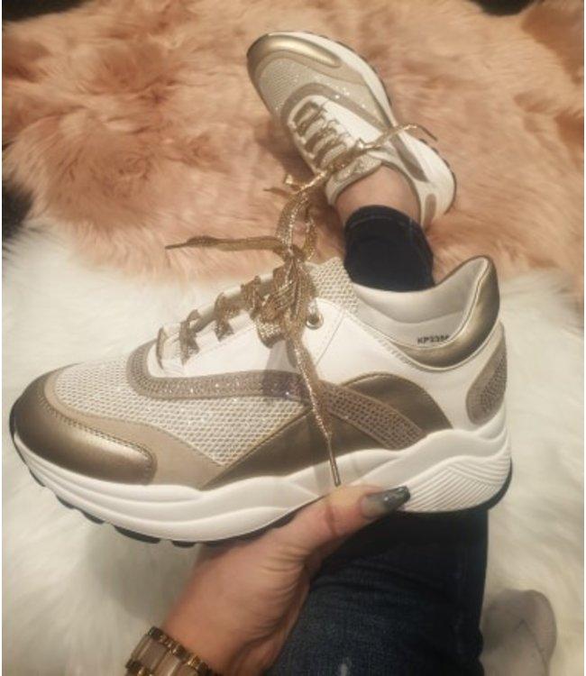 Glitzy mommy sneaker
