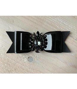 Haarstrik limited edition zwart lak