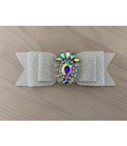 XL haarstrik limited edition| Glitter white