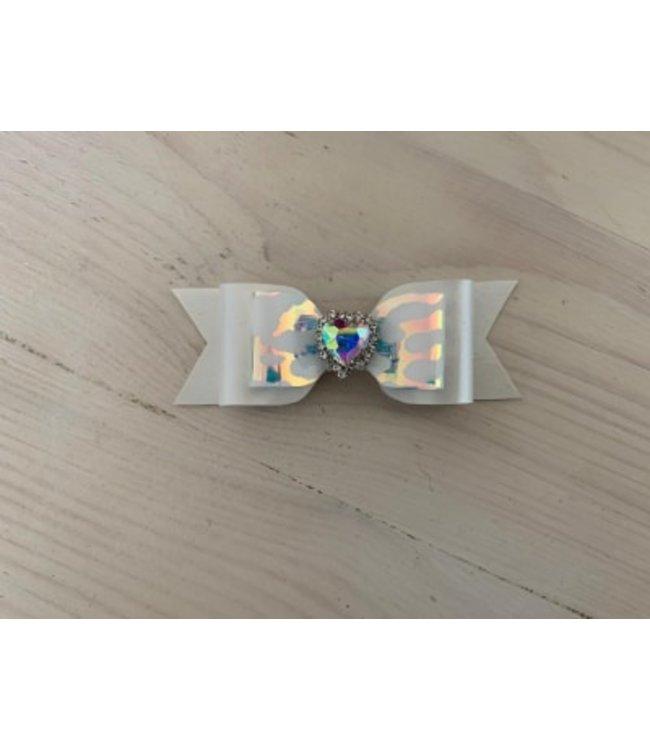 L haarstrik limited edition| Leopard rainbow white