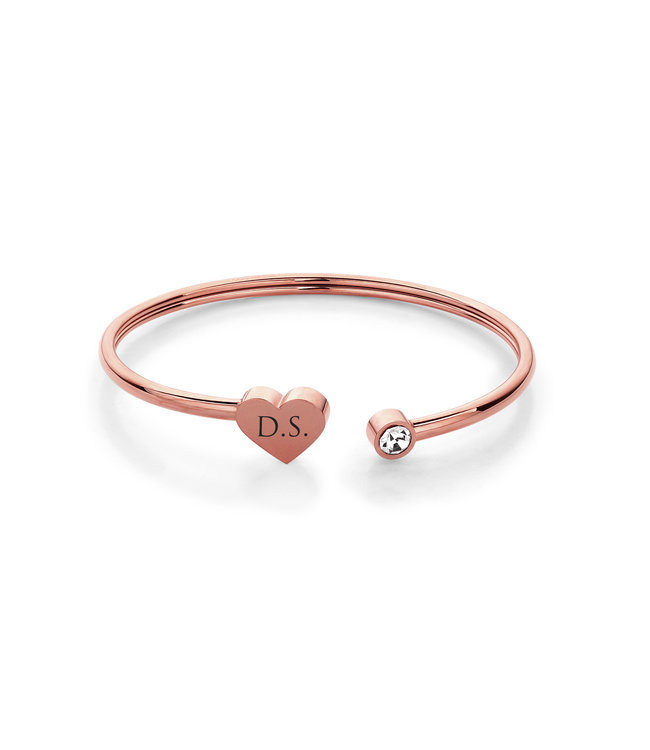 Ducett Armband heart | Rose