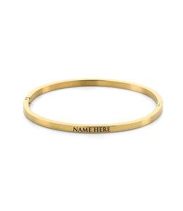 Name bangle| gold