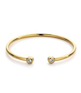 Diamond bangle| Goud