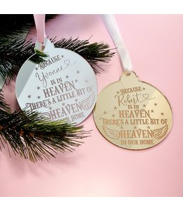 glitz4kids Hanger kerstboom someone we love| Gepersonaliseerd
