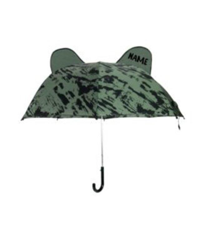 Umbrella Bear Green Distress met Naam