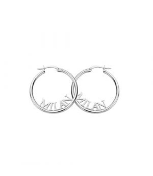 Signature Earring zilver