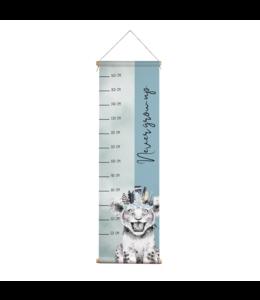 Glitz4kids Groeimeter | Leeuw blauw