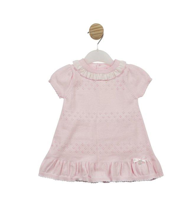 Mintini Roze jurkje met broekje set