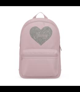 Glitz4kids Mini big heart girls rugzak roze