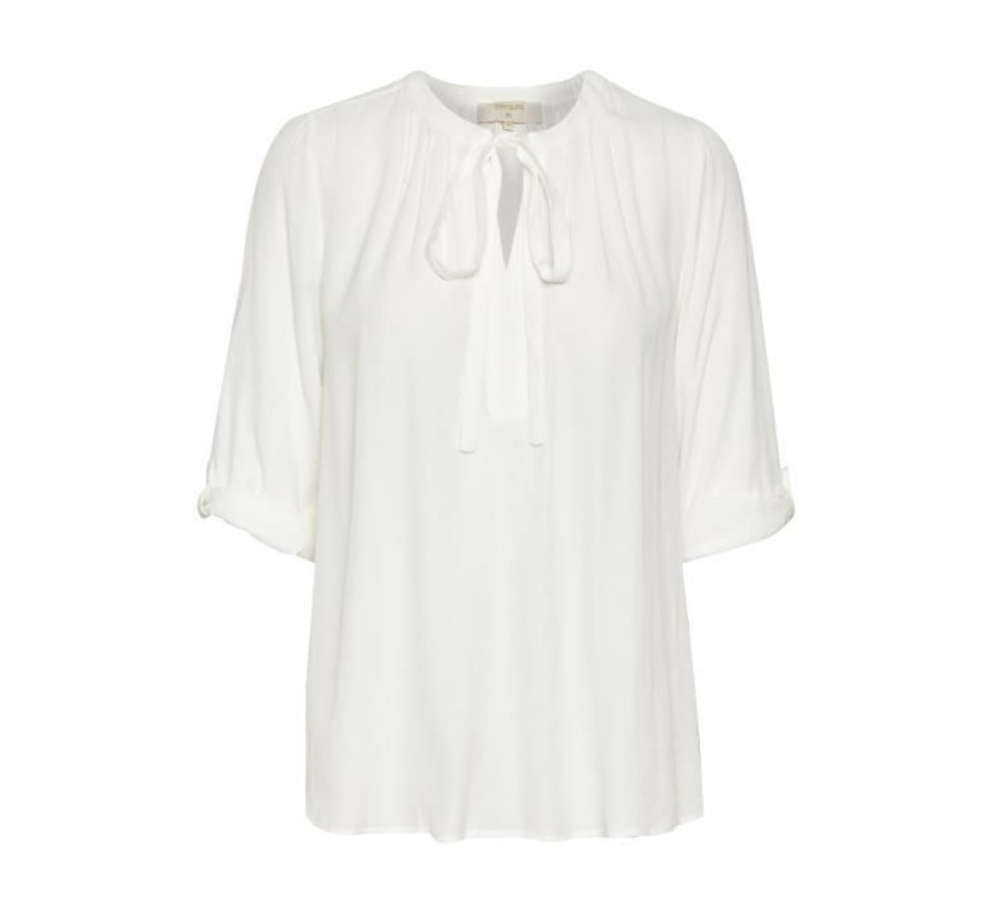 Bluse | Vera 3/4 sleeve blouse | Chalk