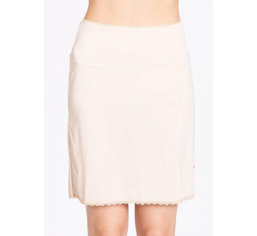 Unterrock | logo under skirt | underdress white