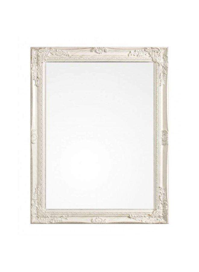 Spiegel Miro in Antikweiss-Gold - 62X82